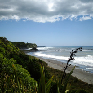 Back Beach Oakura New Plymouth New Zealand