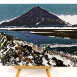 Alloy&Oil_Photo_PaintingsMountTaranaki_Waiwakaiho_Reflection